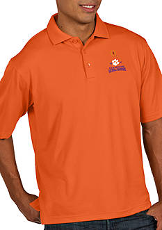 Antigua® NCAA Clemson Tigers 2016 National Champs Pique Xtra-Lite Polo