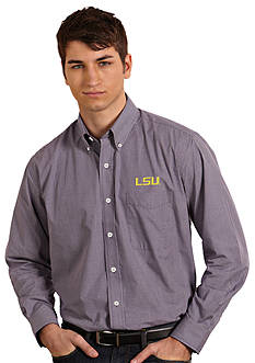 Antigua® LSU Tigers Focus Woven Shirt