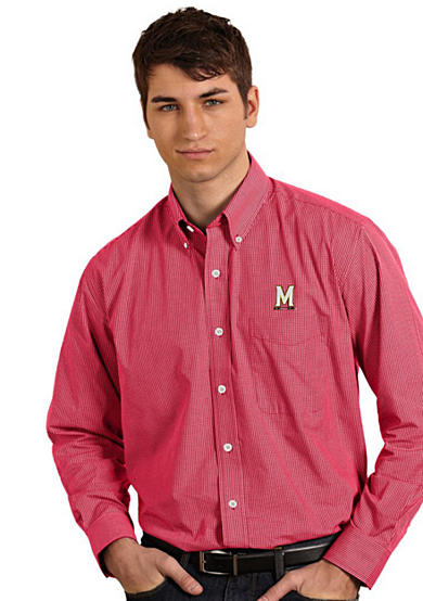 Antigua® Maryland Terrapins Focus Woven Shirt