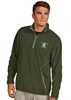 Antigua Michigan State Spartans Ice Pullover