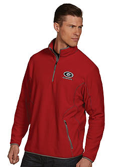 Antigua Georgia Bulldogs Ice Pullover