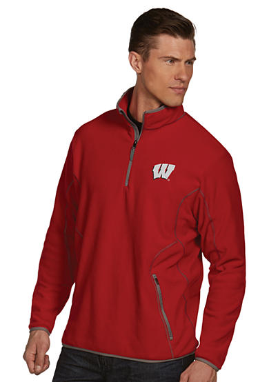 Antigua® Wisconsin Badgers Ice Pullover