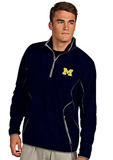Antigua Michigan Wolverines Ice Pullover