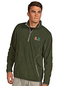 Antigua® Miami Hurricanes Ice Pullover