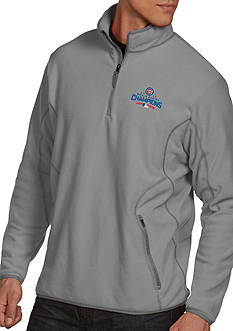 Antigua Chicago Cubs 2016 World Series Champs Mens 1/4 Zip