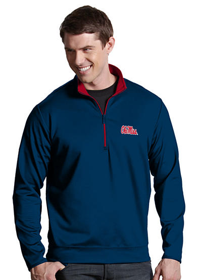 Antigua® Ole Miss Rebels Leader Pullover