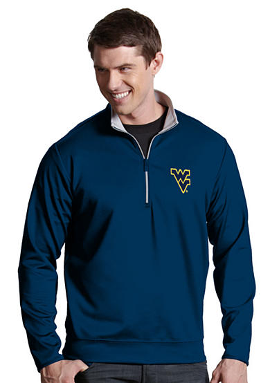 Antigua® West Virginia Mountaineers Leader Pullover