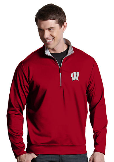 Antigua® Wisconsin Badgers Leader Pullover