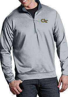 Antigua Georgia Tech Yellow Jackets Leader Pullover