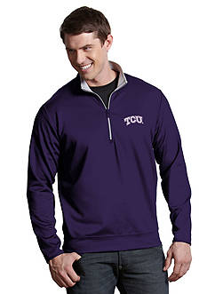 Antigua TCU Horned Frogs Leader Pullover