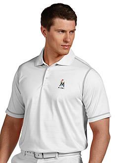 Antigua Miami Marlins Icon Polo