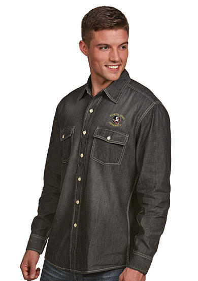 Antigua® Florida State Seminoles Long Sleeve Chambray Shirt