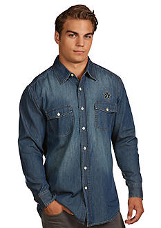 Antigua Vanderbilt Commodores Long Sleeve Chambray Shirt