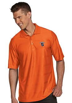 Antigua Syracuse Orange Illusion Polo
