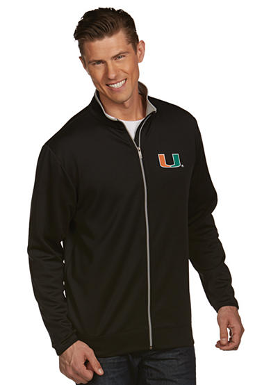 Antigua® Miami Hurricanes Leader Jacket