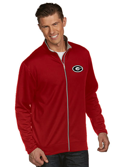 Antigua® Georgia Bulldogs Leader Jacket
