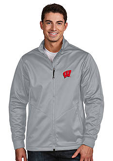 Antigua® Wisconsin Badgers Golf Jacket
