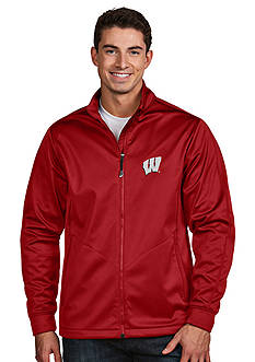 Antigua Wisconsin Badgers Golf Jacket