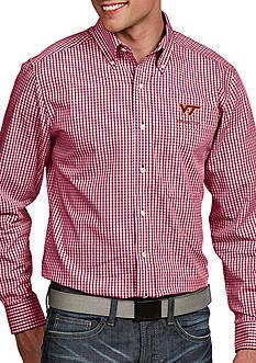 Antigua Virginia Tech Hokies Associate Woven Shirt