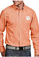 Antigua® Clemson Tigers Associate Woven Shirt
