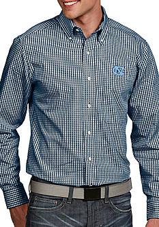 Antigua UNC Tar Heels Associate Woven Shirt
