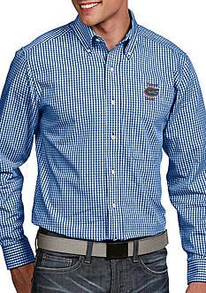 Antigua Florida Gators Associate Woven Shirt