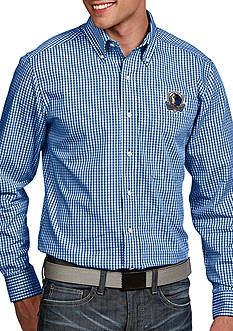 Antigua® Dallas Mavericks Mens Associate Long Sleeve Woven Shirt