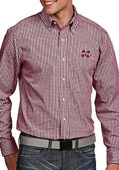 Antigua Mississippi State Bulldogs Associate Woven Shirt