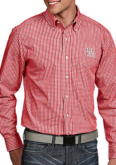 Antigua Houston Cougars Associate Woven Shirt