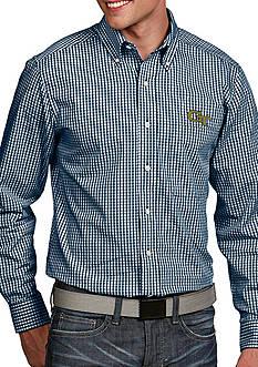 Antigua Georgia Tech Yellow Jackets Associate Woven Shirt