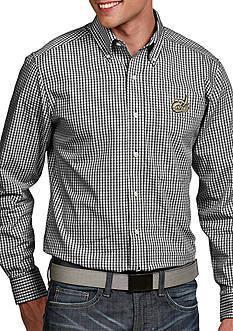 Antigua UNC Charlotte 49ers Associate Woven Shirt