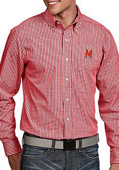 Antigua Maryland Terrapins Associate Woven Shirt