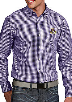 Antigua East Carolina Pirates Associate Woven Shirt