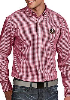 Antigua Florida State Seminoles Associate Woven Shirt