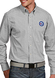 Antigua® Philadelphia 76ers Mens Associate LS Woven Shirt