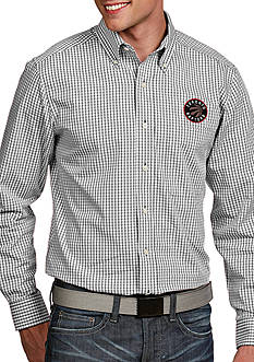 Antigua® Toronto Raptors Mens Associate LS Woven Shirt