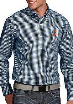 Antigua Syracuse Orange Associate Woven Shirt