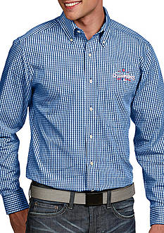 Antigua Chicago Cubs 2016 World Series Champs Mens Button Down