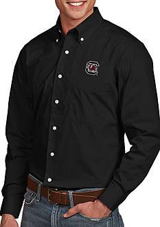 Antigua South Carolina Gamecocks Dynasty Woven Shirt