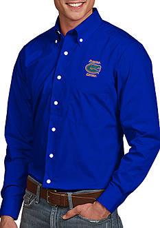 Antigua Florida Gators Dynasty Woven Shirt