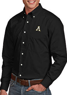 Antigua Appalachian State Mountaineers Dynasty Woven Shirt