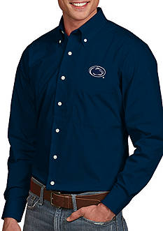 Antigua Penn State Nittany Lions Dynasty Woven Shirt