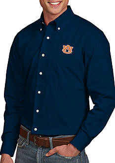 Antigua Auburn Tigers Dynasty Woven Shirt