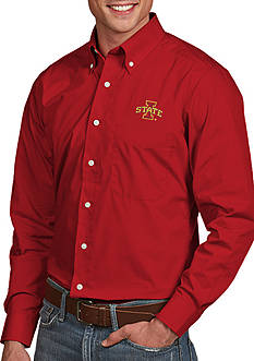 Antigua Iowa State Cyclones Dynasty Woven Shirt