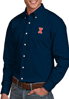 Antigua® Illinois Fighting Illini Dynasty Woven Shirt