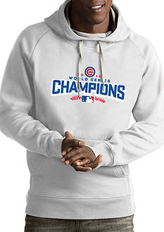 Antigua Chicago Cubs 2016 World Series Champs Mens Pullover