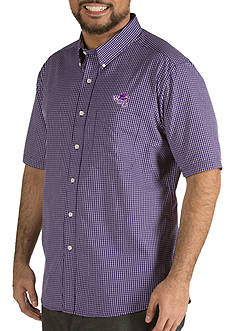Antigua® Western Carolina Catamounts Short Sleeve Button Down
