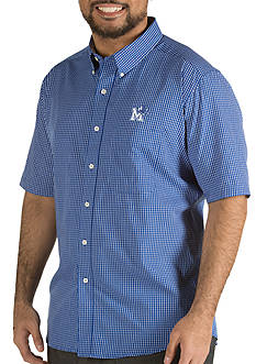 Antigua® Memphis Tigers Short Sleeve Button Down