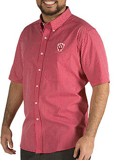 Antigua® Indiana Hoosiers Short Sleeve Button Down