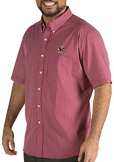 Antigua Boston College Eagles Short Sleeve Button Down